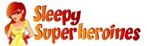 Sleepy Superheroines Logo